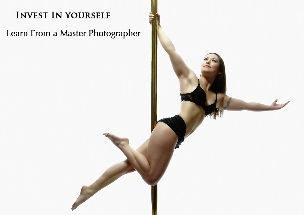 Photography workshops, seminars and tools, with a focus on nude, boudoir, and glamour female portrait photography